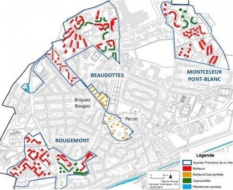 Quartiers prioritaires de la Politique de la Ville (QPV)